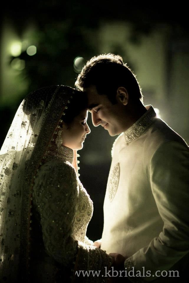 South Asian Bride and Groom
