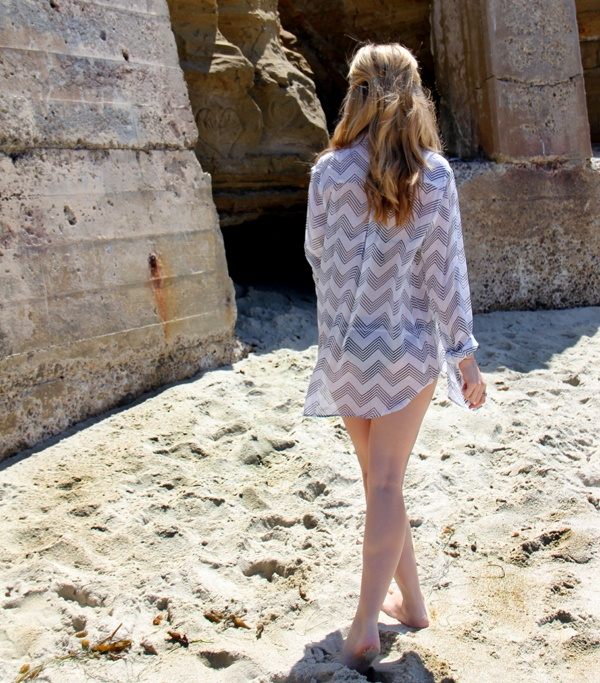 Charlie by Matthew Zink Swimsuit Coverups