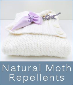 DIY Sachet Recipes to get rid of moths with natural repellents. Use combinations of ingredients such as lavender, clove, mint, cinnamon, etc.