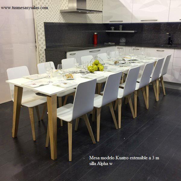 Mejores 39 im genes de adana la mesa de estilo nordico for Mesa 2 metros comensales