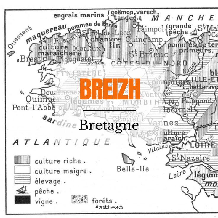 O Breizh Ma Bro  #breizhwords #bretagne #bzh #breizh #brittany #breton #finistère #bro #map #carte