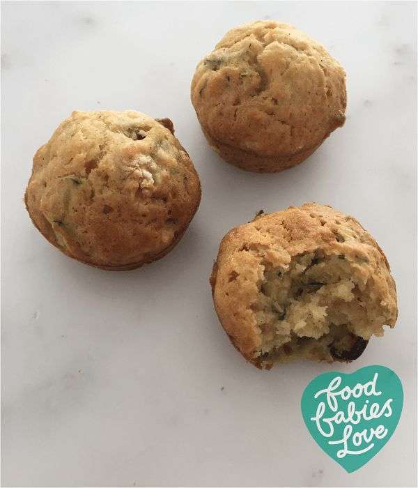 Zucchini and Cranberry Muffins - Food Babies Love