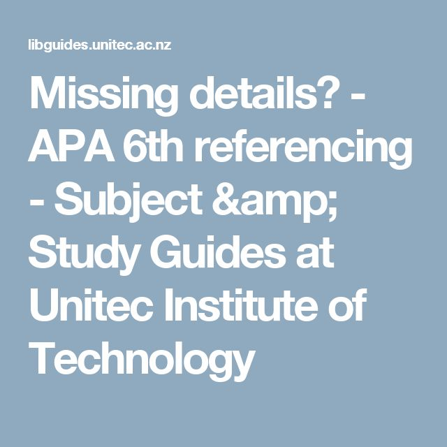 apa study guide Apa's guidelines assist readers in recognizing a writer's ideas and information,  rather than having to adjust to inconsistent formatting in this way, apa allows.