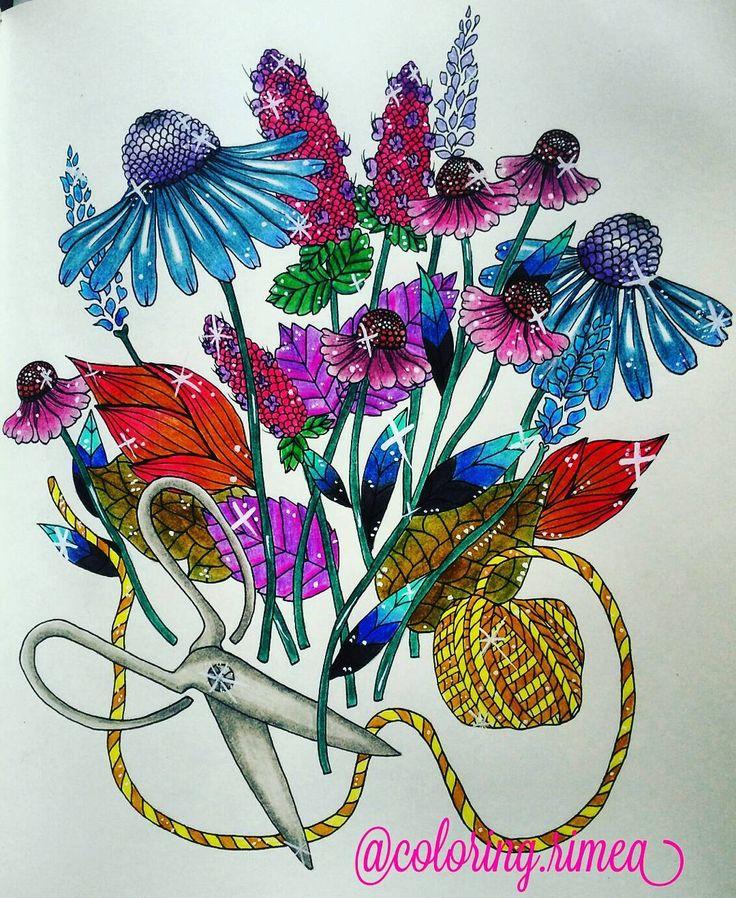 """110 To se mi líbí, 2 komentářů – °Rimea° Czech republik (@coloring.rimea) na Instagramu: """"#blomstermandalamalarbok #blomstermandala #mariatrolle #mariatrolleblomstermandala #flowers…"""""""