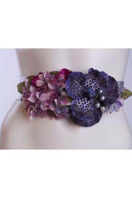 encuentra este pin y muchos ms en cinturones de flores y plumas de paquicasado