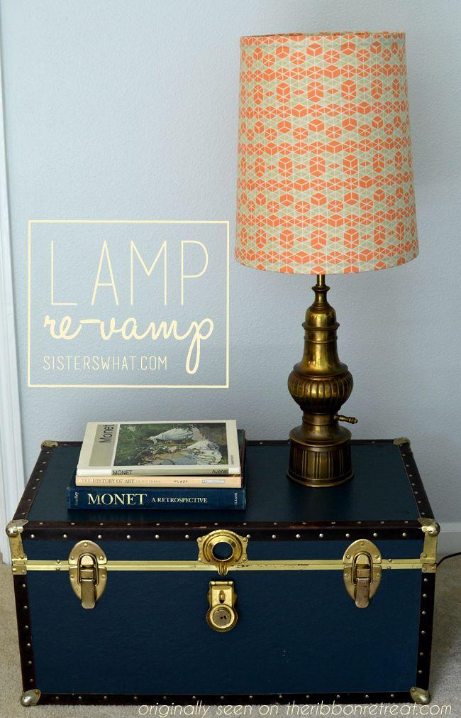 Lamp Revamp Tutorial Tutorials Thrift And Room