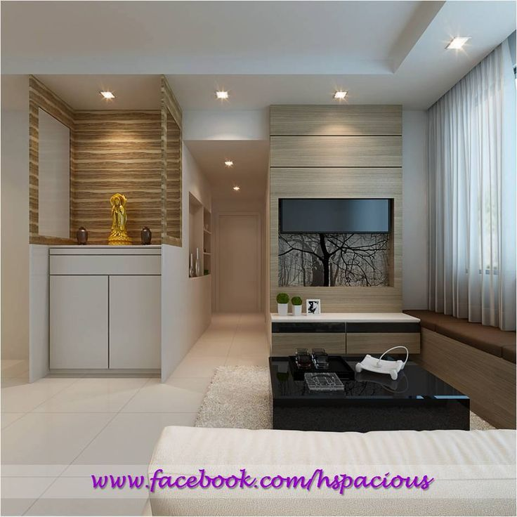 HDB TV Console Feature Wall, Altar, Shelter Feature Wall