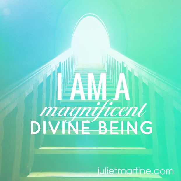 I am a magnificent Divine Being. #ManifestationIntelligence