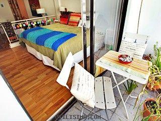 Decoración | Grandes ideas - espacios chicos | Mono ambiente para turistas | Utilisima.com