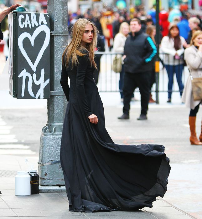 Cara Delevingne. Fashion fades. Style is eternal.