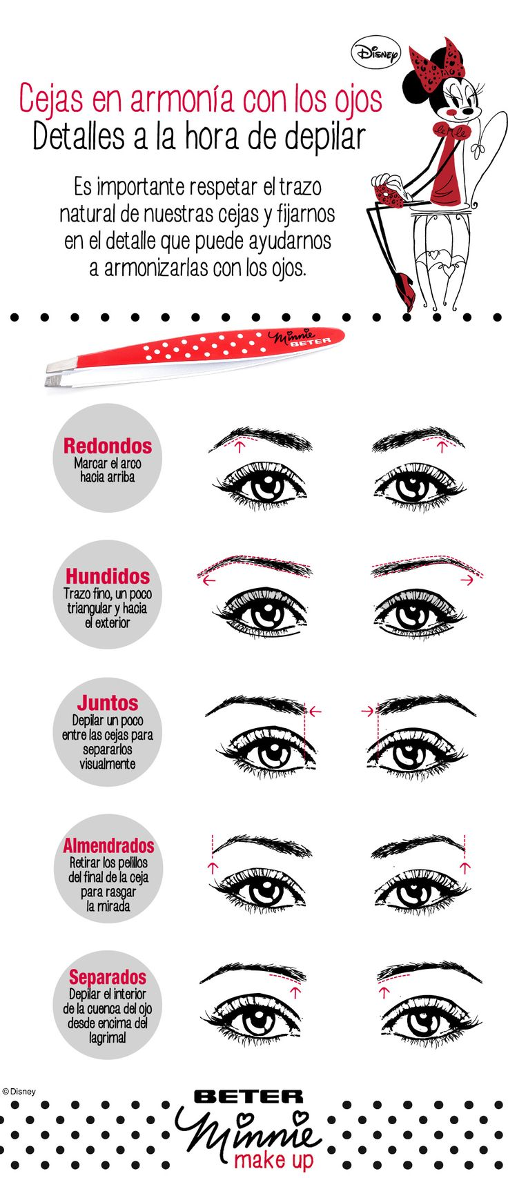 Trucos para la depilación de Cejas. Beauty Eyebrows