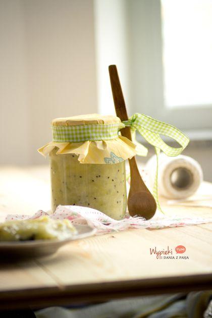 Konfitura bananowa z kiwi/ Banan-kiwi jam