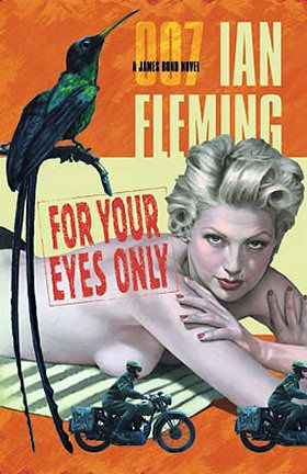 For Your Eyes Only Penguin books pulp paperback cover