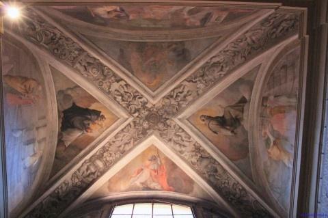 Volta affrescata a Palazzo Vassè-Pietramellara, Bologna
