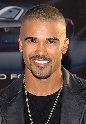 Shemar Moore... the guy who plays Derek Morgan on Criminal Minds... he's one of my favorites...