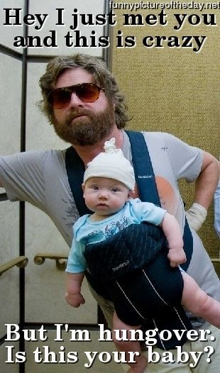 HaHaHa!: Baby Funnies, Zach Galifianakis, Giggl, Funniest Things, Baby Carlo, The Hangover, Favorit Movies, Funnies Stuff, Funnies Movies