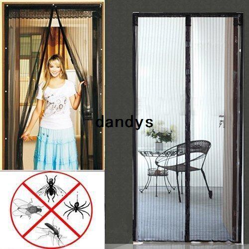 frete grátis magic nova malha hands-Free porta de tela magnética anti mosquito bug