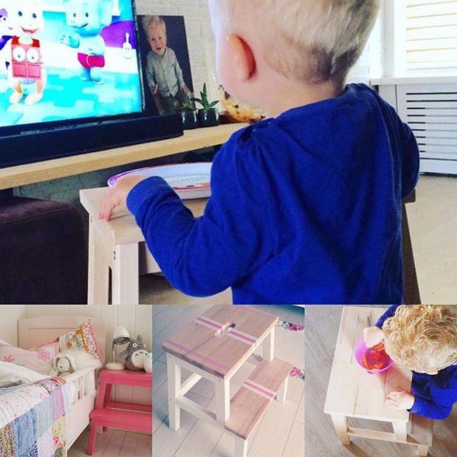 Essen vorm TV ist bei uns früher ein Highlight gewesen. Schade, dass es damals noch nicht diesen praktischen Tisch inkl Sitzbank gab 😉. Der IKEA Bekväm Hocker ist einfach unschlagbar! Auf dem Blog gibt es übrigens weitere Ideen. Danke an @lauraassink @svenngaarden @jo_whites  #ikeabekväm #ikeahack #ikeahocker #ikeakids #ikeadiy #ikeadeutschland