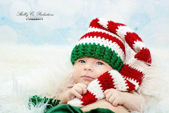 PATTERN Long Stocking Cap hat with pom pom by AllTangledUpByAngela, $3 ...