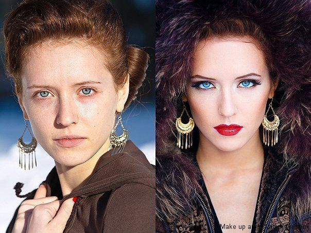The Work of Makeup Artist, Vadim Andreev