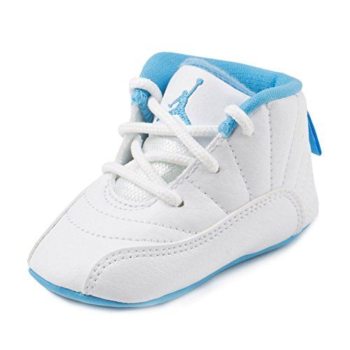 Nike Baby Boys Jordan 12 Retro Gift Pack White/Metallic G…