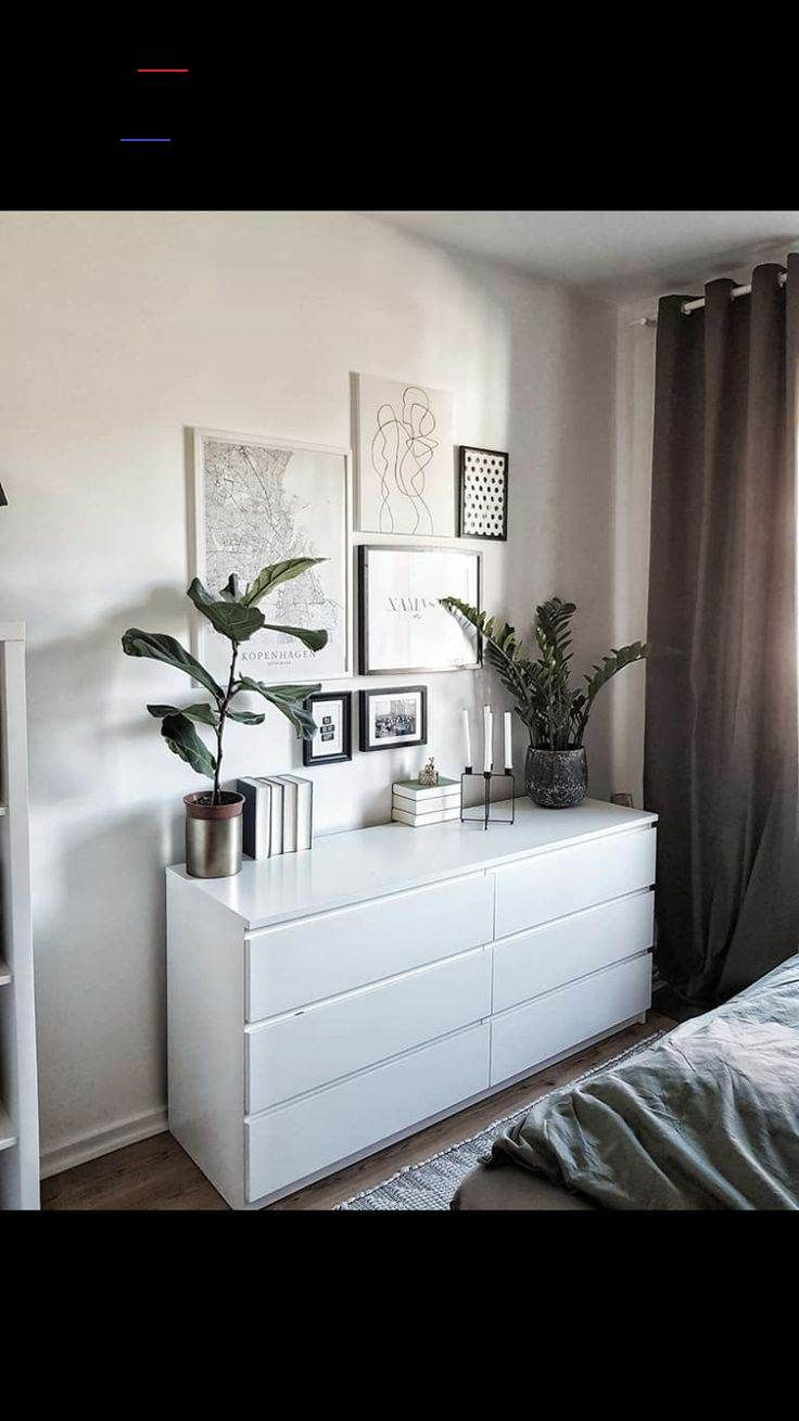 Malm Kommode Ikea Schlafzimmer Ideen Home Living Room Bedroom Interior Home Bedroom