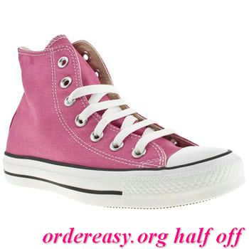 Hot Pink Converse?- I may need to buy these for the wedding, if I can't wear heels...     Fashion pink #converses #sneakers summer 2014