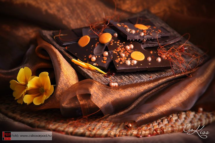 Food styling by Rita Szabo. Photo by Arpad Csikos. Chocolate by Csokiss.