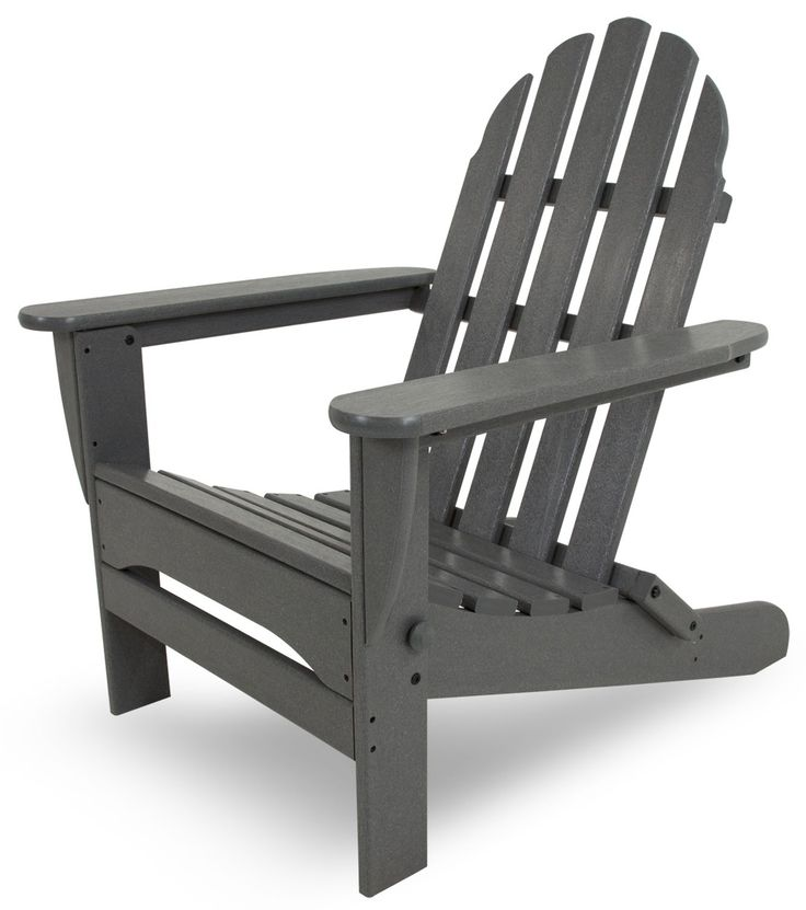 POLYWOOD® Classic Adirondack Arm Patio Lounge Chair #adirondack #adirondackchair #chair #loungechair #outdoor #patio #furniture #armchair http://www.acepatiofurniture.com/poly-wood-recycled-plastic-classic-adirondack-chair-in-vibrant-colors.html