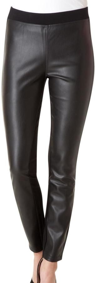 Yest Faux Leather Pants