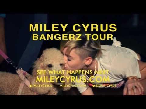 Miley Cyrus BANGERZ TOUR