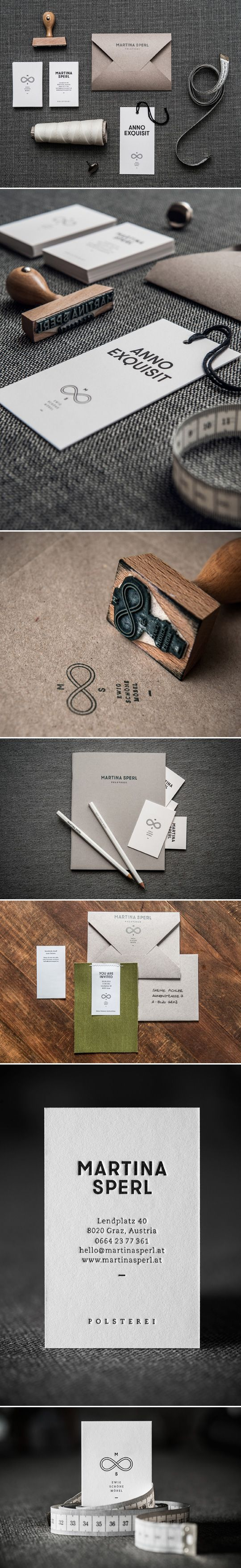 20 Inspiring Stationery Designs / print finish on ww.tobydesigns.com