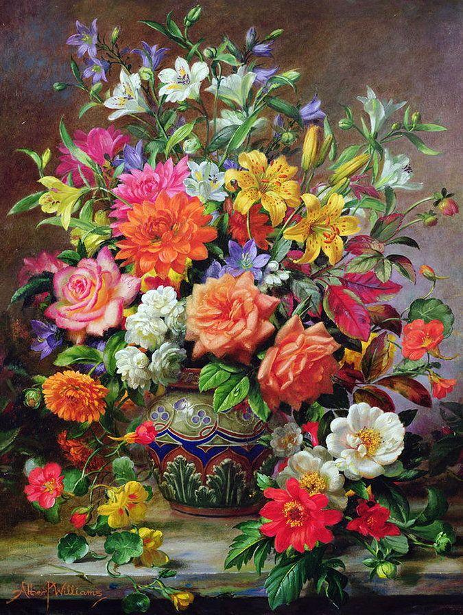 начинаем фото картин с цветами всегда