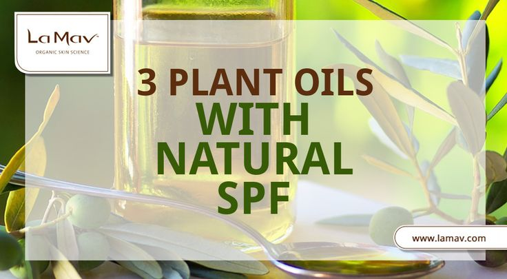 3 Vegetable Oils To Protect Your Skin From The Sun
