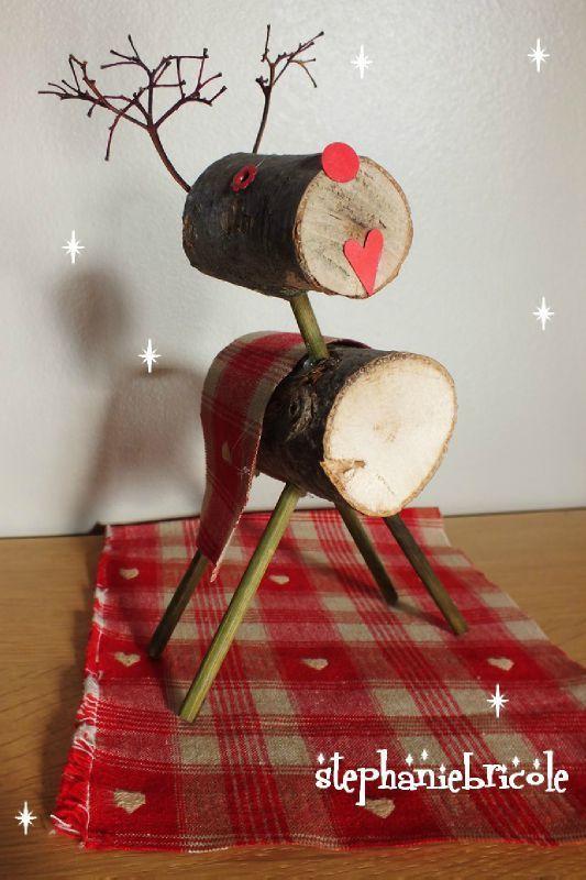 17 meilleures id es propos de rondelles de bois sur - Decoration de table de noel a fabriquer ...
