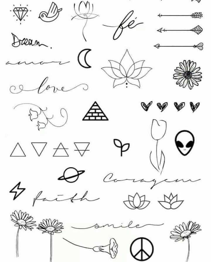 Pin By Tori Monk On Tattoo Idea Doodle Tattoo Tattoo Templates