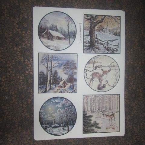 vintage vel-Lapland-winter landschap