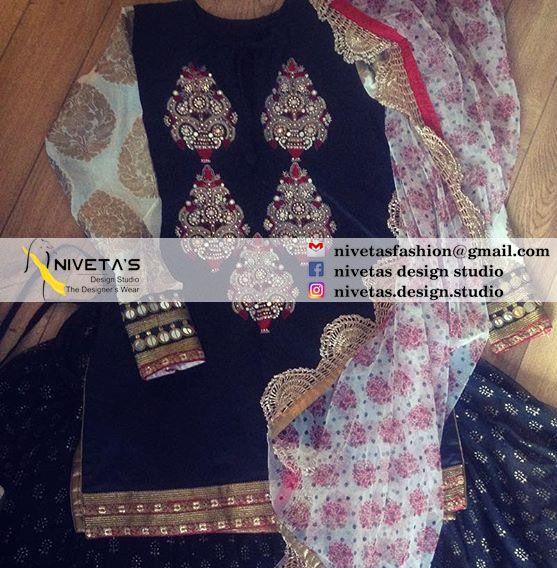 whatsapp +917696747289 Email:- nivetasfashion@gmail.compunjabi suit -  punjabi suits - suits- chooridar suit - Patiala Suit - patiala salwar suits - punjabi salwar suit @nivetasHaute spot for Indian Outfits. Indian fashion meets bespoke Indian couture.  We now ship world wide