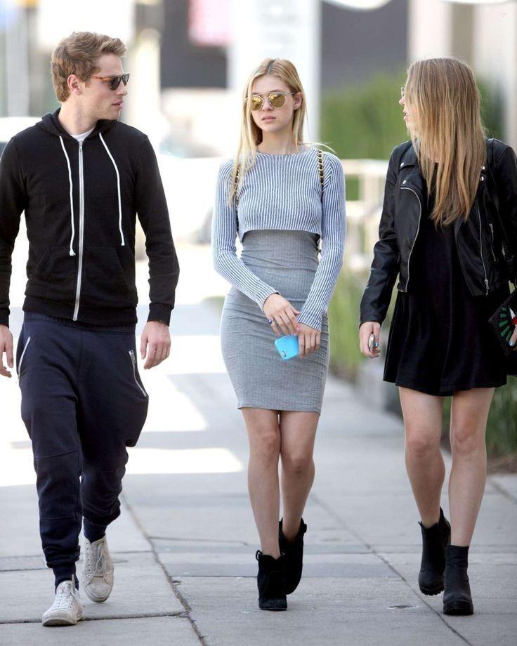 Nicola Peltz in Tight Grey Dress -09 - GotCeleb - Celebrity Fashion Trends