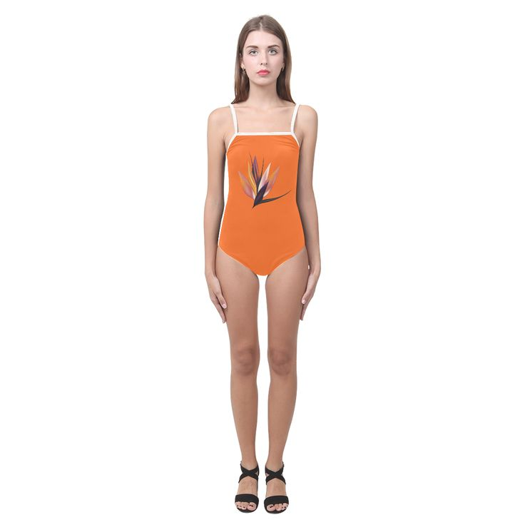 New designers shop available! NEW Orange and Exotic leaves edition 2016 available. Strap Swimsuit.