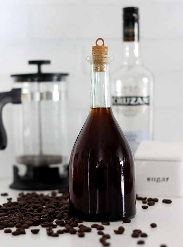 Love Kahlua? Make this super easy version for gift giving or to keep for yourself. Create a big batch in only a few minutes - and it's like the real thing..