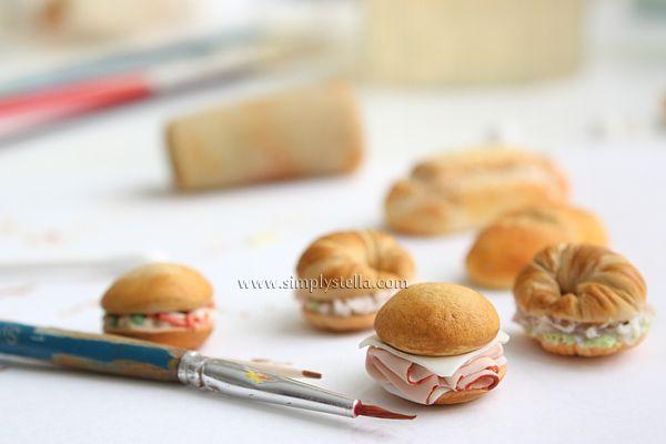 More mini sandwiches
