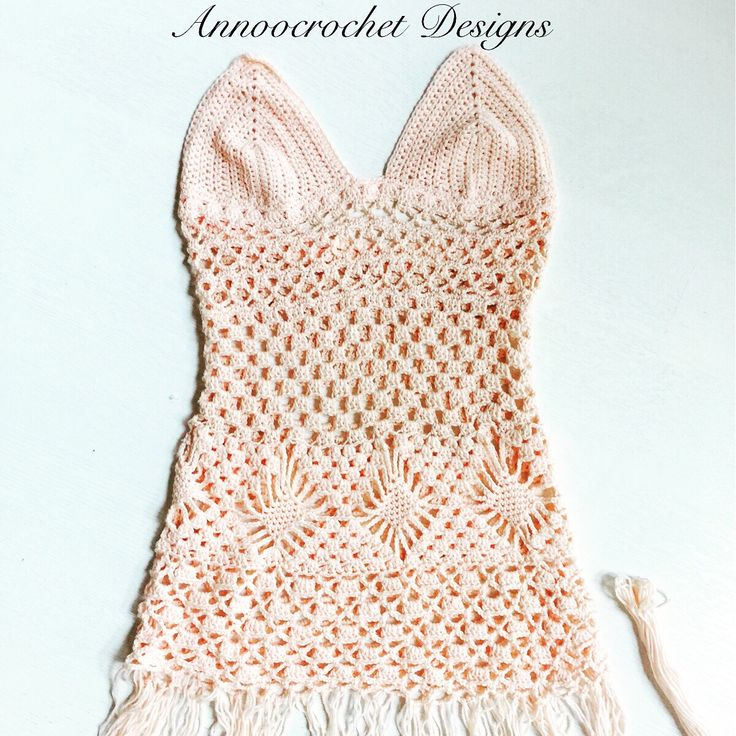 Free Tutorial Boho Beach Crochet Dress By AnnooCrochet Designs