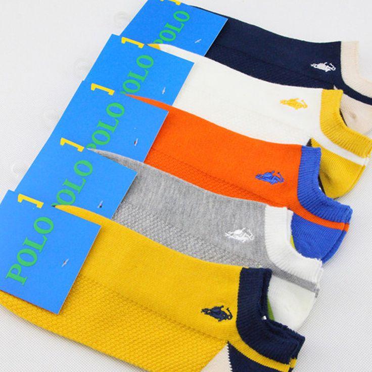 (5 par dużo) 2016 Mężczyźni sportowe skarpetki bawełniane dzianiny Uomo Barca Skarpety Kostium Sukienka butów Foot Sox Łódź Męskie klapki Invisible Sock