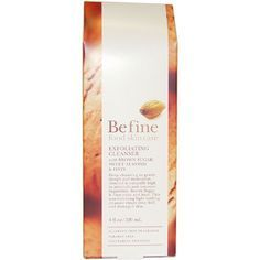 Befine Food Skin Care 4-ounce Exfoliating Cleanser