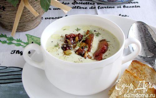 Сырный суп с грудинкой | Кулинарные рецепты от «Едим дома!»