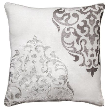 www.target.com p hope-embroidered-medallion-throw-pillow-20-x20-grey-mudhut - A-14196300