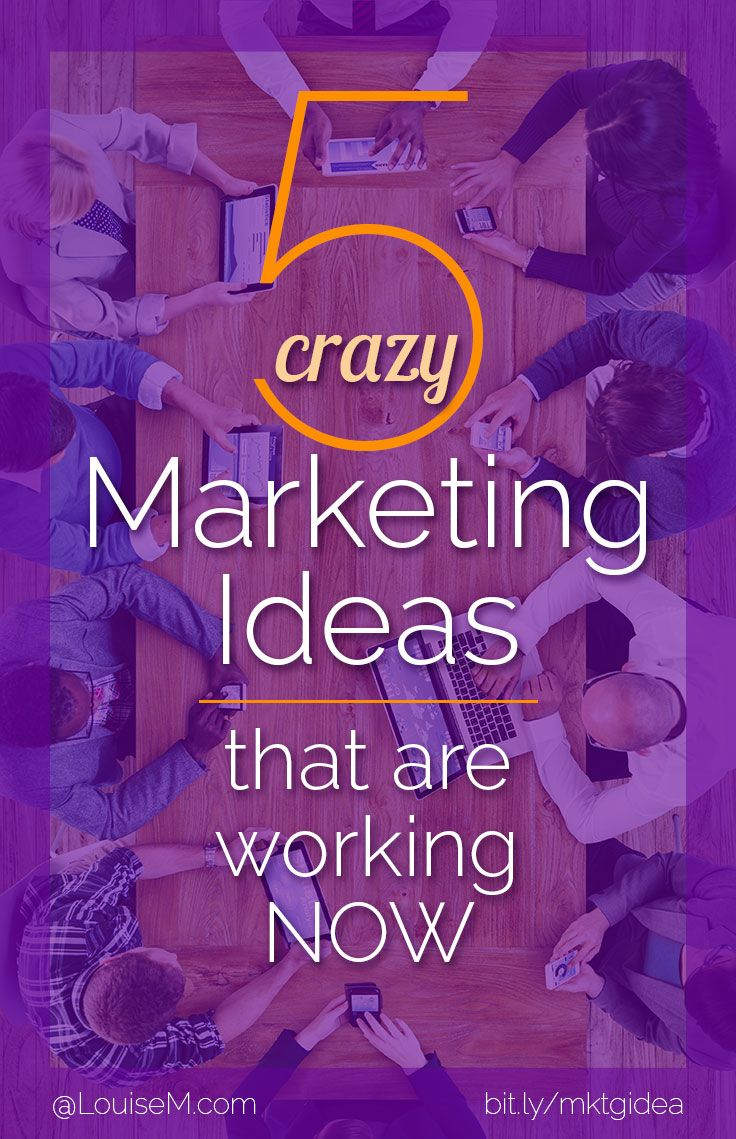 Small businesses marketing now need to STAND OUT with crazy and creative marketing ideas! Click to blog to try these 5 tactics that increase your visibility and sales.