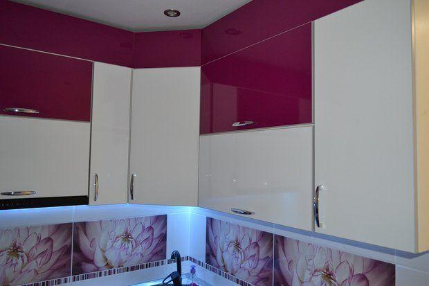 двухцветная кухня