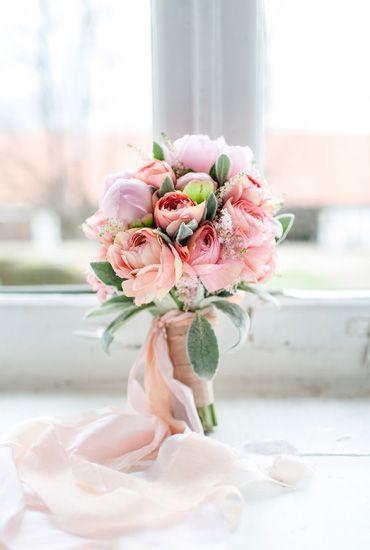 Hochzeitstraum: Vintage trifft auf Glamour in rosa und gold  PomPom ...